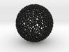 Geodesic Rings, rtube = 80% 3d printed