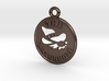 Waterhole Pendant 5b for metal 3d printed