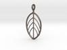 Apple Leaf Pendant 3d printed