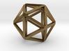 Icosahedron Thinner 25mm 3d printed