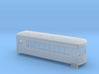 N gauge short trolley -  combine no1 3d printed