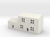 1/700 Town House 3 3d printed