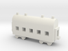1/700 Passenger Carriage 3d printed