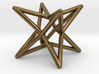 Octahedron Star Earring 3d printed