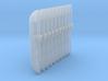 Techno-Cultist Blades 001a (x10) 3d printed