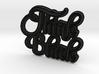 Think Black 3d printed
