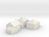 1/350 Village Houses 4 3d printed