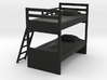 1:39 Scale Model - Bunk Bed 01 3d printed