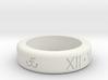 FaithWare Anniversary Ring  3d printed