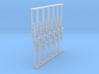Crossing Gate set of 12 - N Scale 3d printed