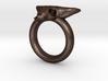 Skull Ring D18 3d printed