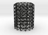 octet truss cyl 3d printed