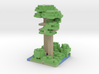 a random minecraft ewok village with 2 scout troop 3d printed