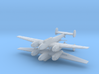 1/200th Messerschmitt Bf 110 (Two planes) 3d printed