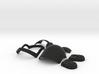 Daft Punk Mini Helmet Kit - Guy-Manuel 3d printed