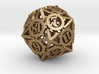 Steampunk Gear d20 3d printed