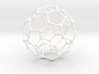Bucky Ball Wire Frame 3d printed