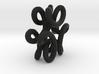 trefoilKnot 6loops 3d printed