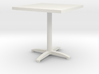 square bistro table 3d printed
