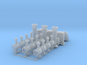 Couillet Fittings 1 32 stl 3d printed