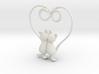 Kittens Heart 3d printed