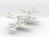 Ki-45 Nick 1:900 x4 3d printed