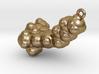 THC Molecule Pendant, ~5cm. 3d printed