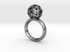 Geodesic Dome Ring size 7 3d printed