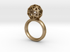 Geodesic Dome Ring size 6 3d printed