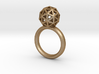 Geodesic Dome Ring size 7.5 3d printed