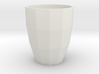 Low Poly Mug 3d printed