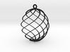 Egg Spun Ornament 3d printed