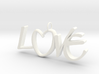 Love is All You Need (One) 3d printed