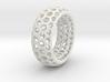 Hexagon Pattern Bracelet 3d printed