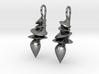 Sculpted Earrings 3d printed