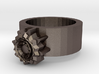 Steampunk ring 3d printed