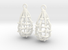 My Safety Net - Earrings 3d printed