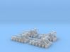 4 x Buffers - Flex Track - T - 1:450 3d printed