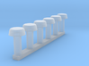HO/1:87 Exhaust valves 3d printed