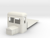 On16.5 Railbus flatbed freight  3d printed