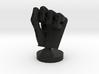 Cyborg hand posed fist 3d printed