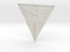 """Mandalorian Logo - Manda'galaar (2 3/4"""") 3d printed"""