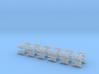 1/350 BLU-107 (Multiple Ejector Rack) (x24) 3d printed