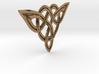 Triskele pendant 3d printed