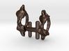 Atlas Vertebra (C1) Cufflinks 3d printed