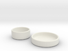 Petri Dish and Lid 35mm 3d printed