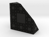 Menger Antisponge level 4 3d printed