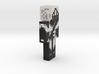 6cm   loup_noire 3d printed