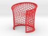 Woven Cuff - Medium 3d printed