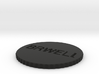 by kelecrea, engraved: BRWELLS20 COIN  3d printed